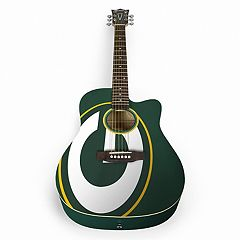 Woodrow Green Bay Packers Acoustic Guitar