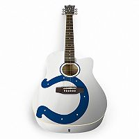 Woodrow Indianapolis Colts Acoustic Guitar