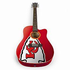 Woodrow Kansas City Chiefs Acoustic Guitar