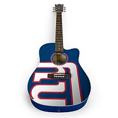 Woodrow New York Giants Acoustic Guitar