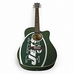 Woodrow New York Jets Acoustic Guitar