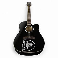 Woodrow Oakland Raiders Acoustic Guitar