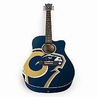 Woodrow Los Angeles Rams Acoustic Guitar