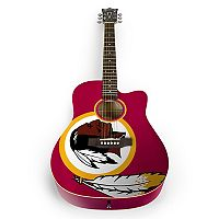 Woodrow Washington Redskins Acoustic Guitar