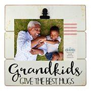 New View 'Grandkids' 4' x 6' Photo Clip Frame