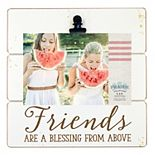 "New View ""Friends"" 4"" x 6"" Photo Clip Frame"