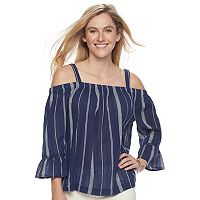 Women's SONOMA Goods for Life™ Off-the-Shoulder Top