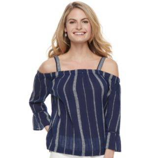Women's SONOMA Goods for Life™ Eyelet Off-the-Shoulder Top