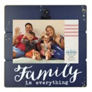 "New View ""Family"" 4"" x 6"" Photo Clip Frame"