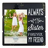 """New View """"Sister"""" 4"""" x 6"""" Photo Clip Frame"""