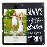 New View 'Sister' 4' x 6' Photo Clip Frame