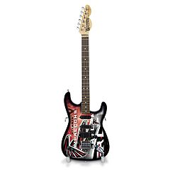 Woodrow Atlanta Falcons NorthEnder Collector Series Mini Replica Electric Guitar