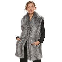 Women's Jennifer Lopez Faux-Fur Vest
