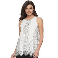 Women's Apt. 9® Lace Tunic Tank