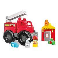 Mega Bloks Storytelling Fire Truck Rescue