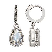Simply Vera Vera Wang Nickel Free Hoop Teardrop Earrings