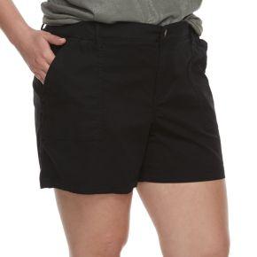 Plus Size SONOMA Goods for Life™ Utility Shorts
