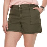 Plus Size SONOMA Goods for Life™ Utility Shorts