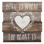 "Rustic ""Home"" Wall Decor"
