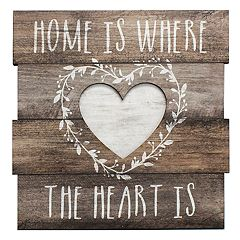 Rustic 'Home' Wall Decor