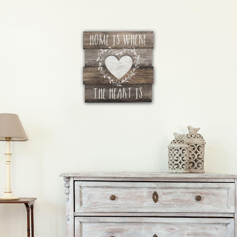 Wood art wall decor home decor kohls amipublicfo Gallery