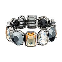 Simply Vera Vera Wang Geometric Stone Stretch Bracelet