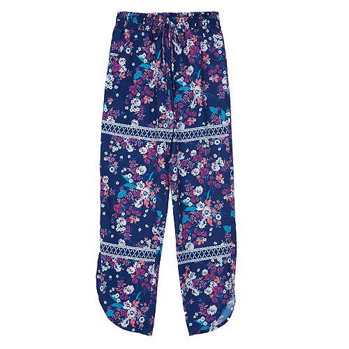 Girls 7-16 IZ Amy Byer Printed Soft Dolphin Pants