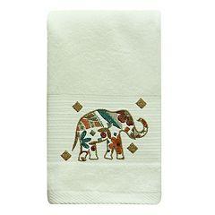 Bacova Boho Elephant Hand Towel