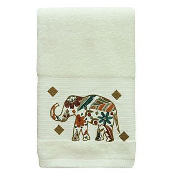 Bacova Boho Elephant Bath Towel
