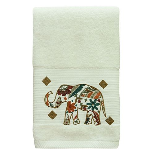 Bacova Boho Elephant Bath Towel