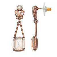 Simply Vera Vera Wang Nickel Free Simulated Crystal Drop Earrings