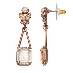 Simply Vera Vera Wang Simulated Crystal Drop Earrings
