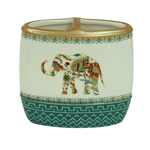 Bacova Boho Elephant Toothbrush Holder