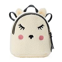 T-Shirt & Jeans Fuzzy Lamb Mini Backpack