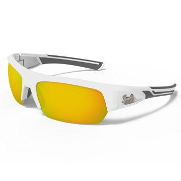 Men's Under Armour Big Shot Semirimless Wrap Sunglasses