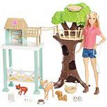 Barbie® Woodland Animal Rescue Center Playset