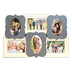Belle Maison 6-Opening Quatrefoil 4' x 6' Collage Frame