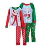 Boys 4-10 The Elf on the Shelf® 4-Piece Pajama Set