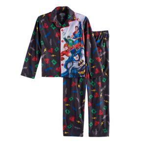 Boys 4-16 DC Comics Justice League 2-Piece Pajama Set