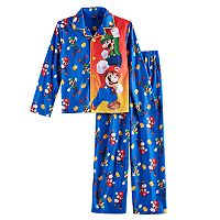 Boys 4-16 Super Mario Bros. 2-Piece Pajama Set