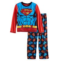 Boys 4-16 DC Comics Superman 3-Piece Pajama Set