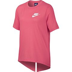 Girls 7-16 Nike Split Back Tee