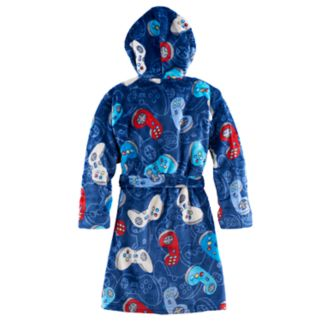 Boys 4-14 Cuddl Duds Video Game Hooded Robe