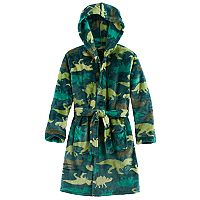 Boys 4-14 Cuddl Duds Dinosaur Hooded Robe