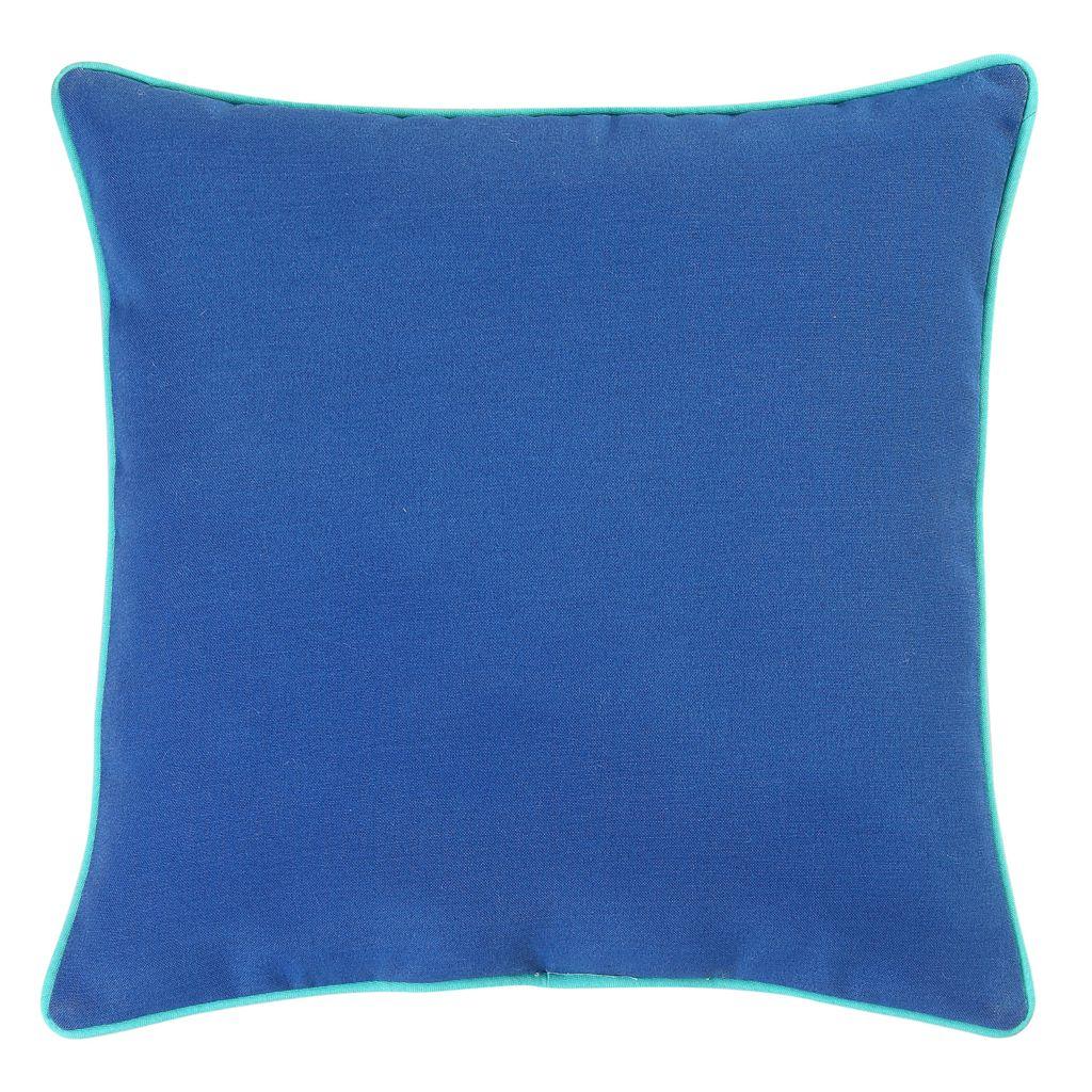 Solid Microfiber Indoor Outdoor 17-piece Throw Pillow Set