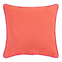 Clairebella Solid Microfiber Indoor Outdoor 2-piece Throw Pillow Set
