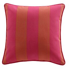 Clairebella Cabana Stripe Indoor Outdoor 2-piece Throw Pillow Set