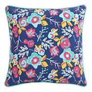 Clairebella Floral Outdoor 2 pc Throw Pillow Set