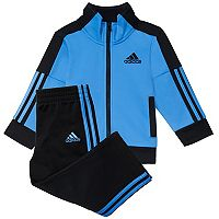 Baby Boy adidas Full-Zip Track Jacket & Pants Set