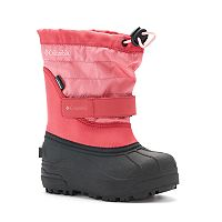 Columbia Powderbug Plus II Toddler Girls' Waterproof Winter Boots